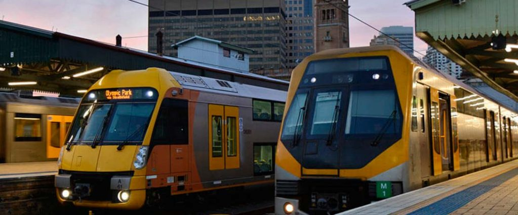 transporte publico en sydne
