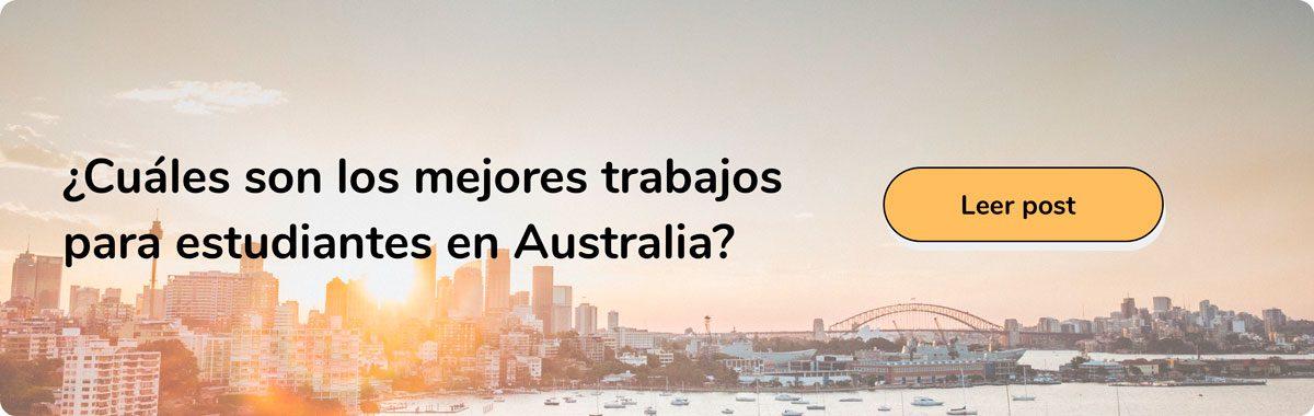 Trabajos para estudiantes en Australia