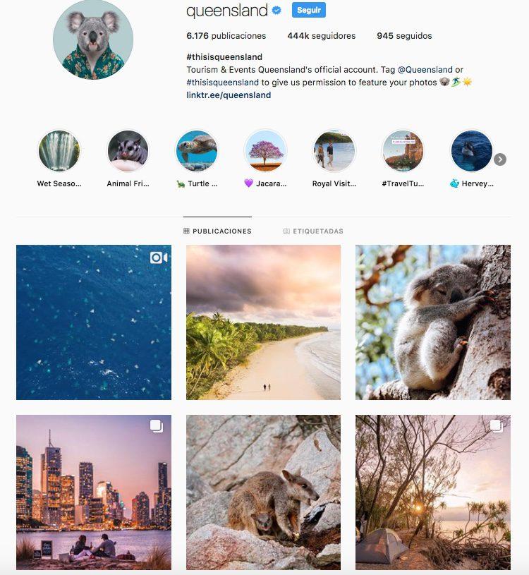 cuentas de instagram sobre australia