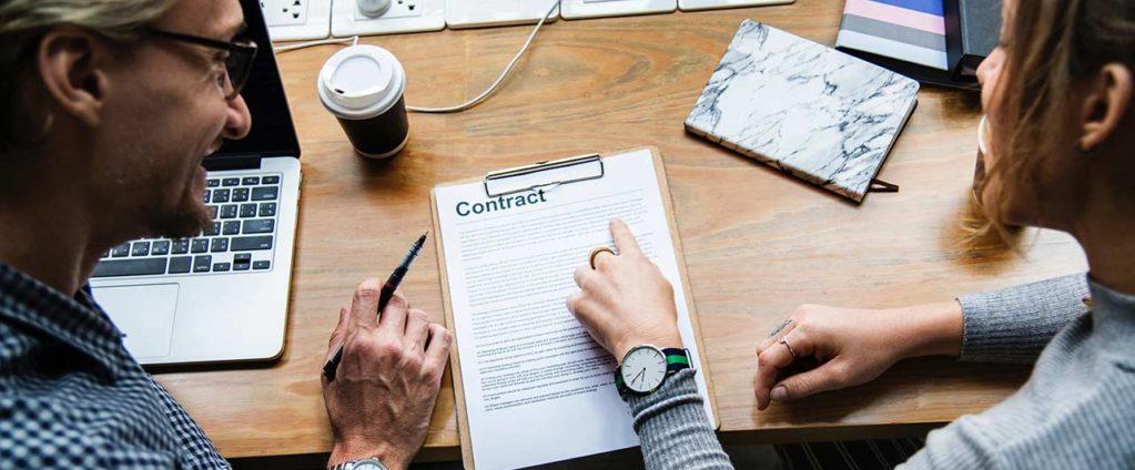 rellenar un contrato de trabajo en australia