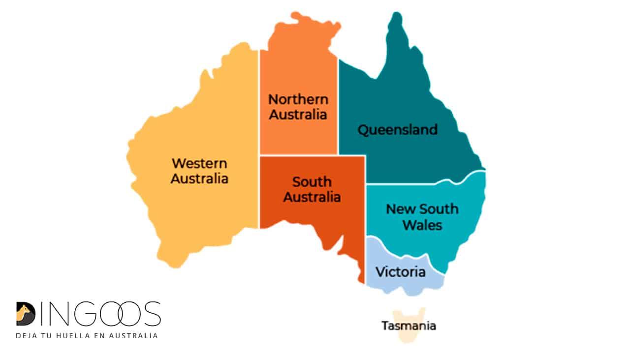 Blbecek dátumové údaje lokalít Austrália