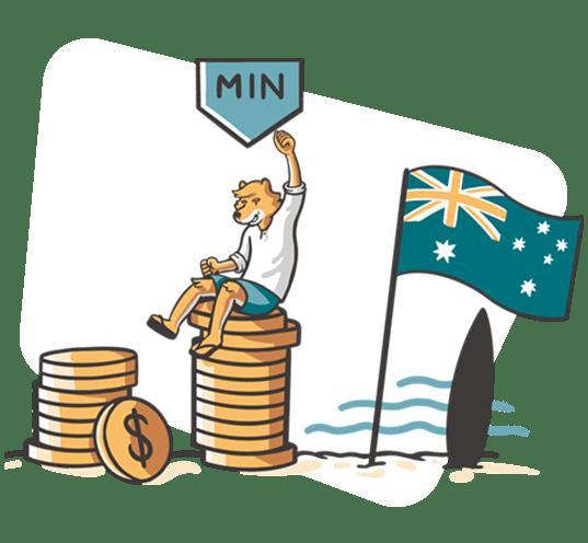 Salario minimo en Australia
