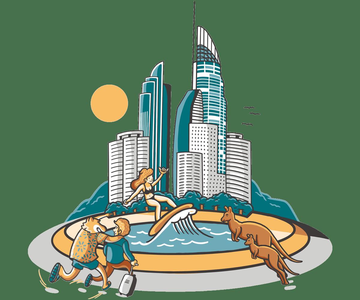 Ciudad de Gold Coast