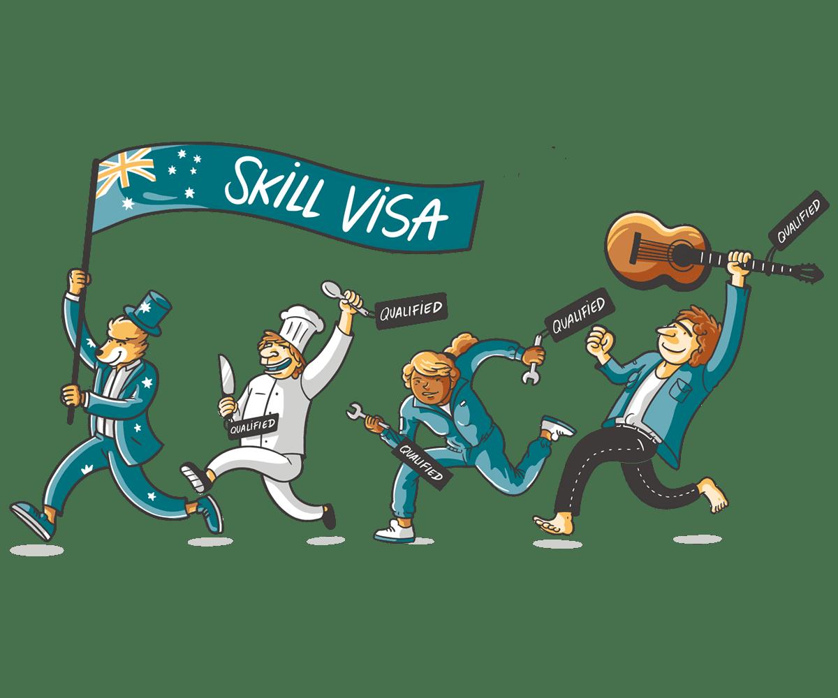 Skilled Visa para Australia