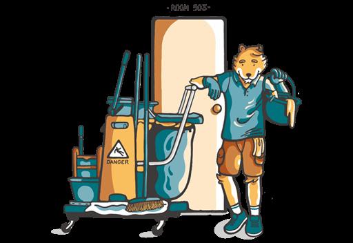Trabajar de cleaner en Australia