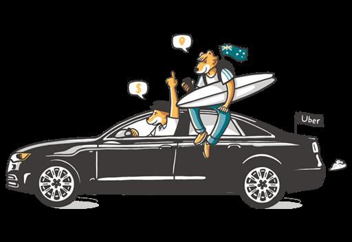 Uber work in Australia