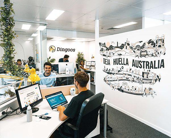 Oficina Dingoos Victor y Curro