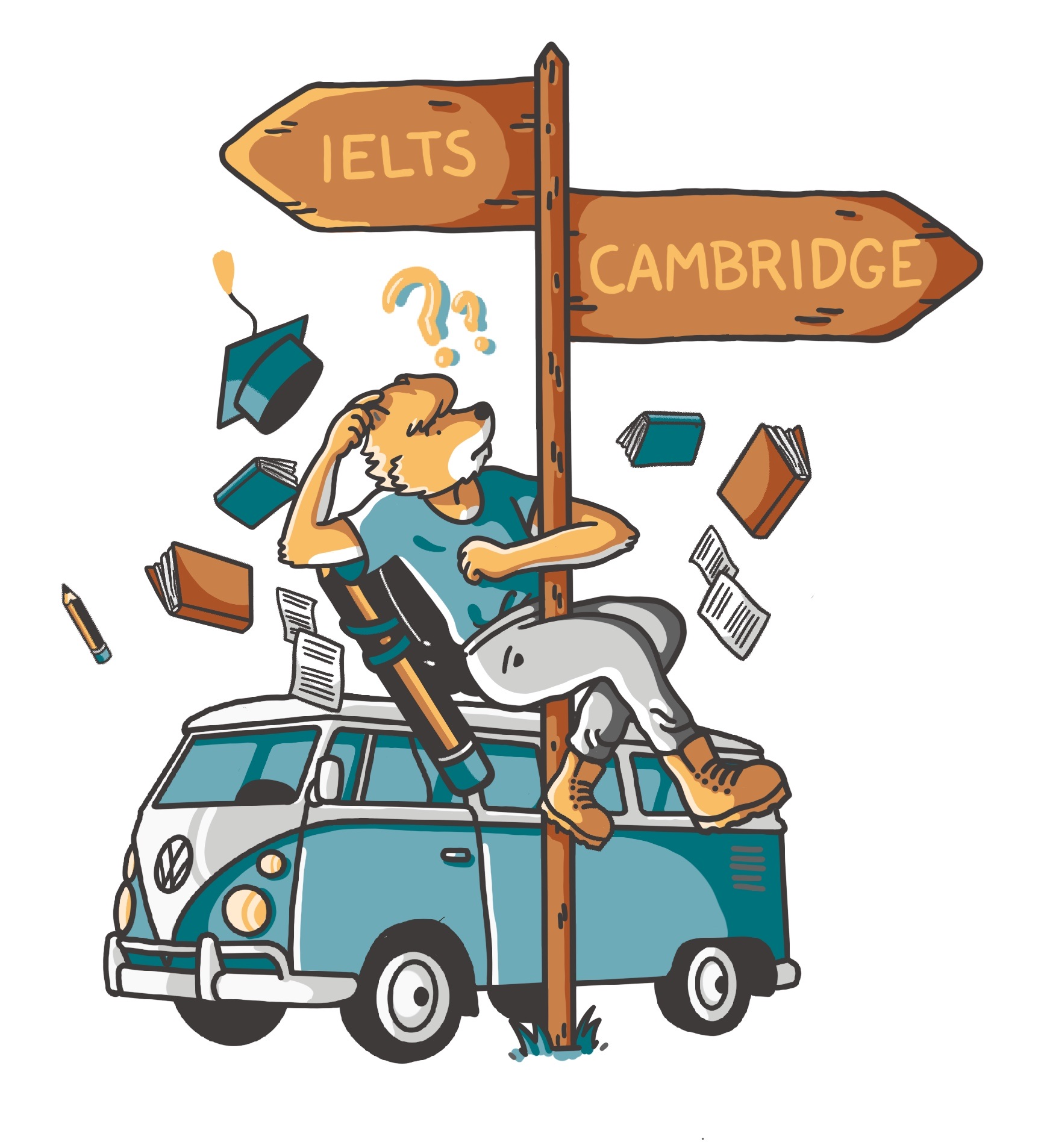 infografia ielts vs cambrige