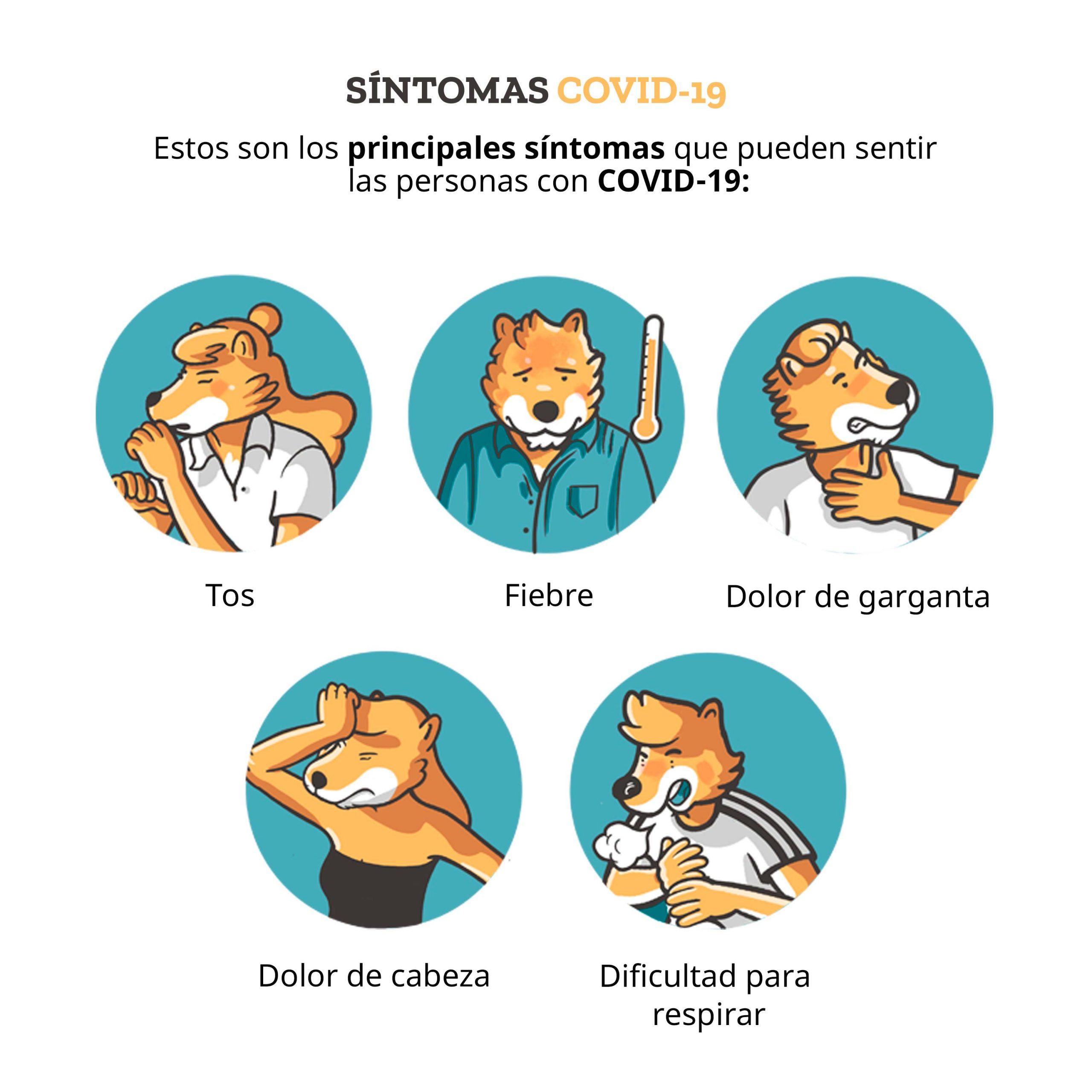 infografia sintomas coronavirus