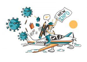 new info coronavirus flights