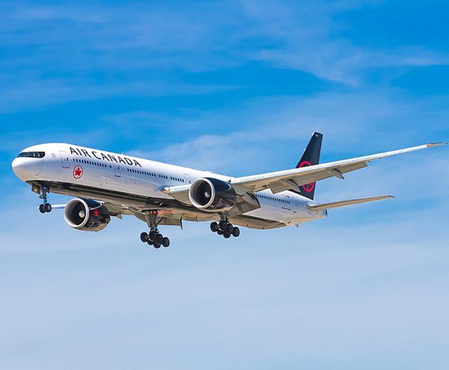 Vuelos con Air Canada