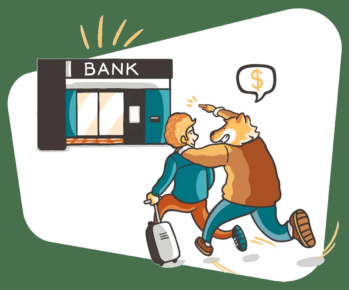 Apertura de la cuenta bancaria