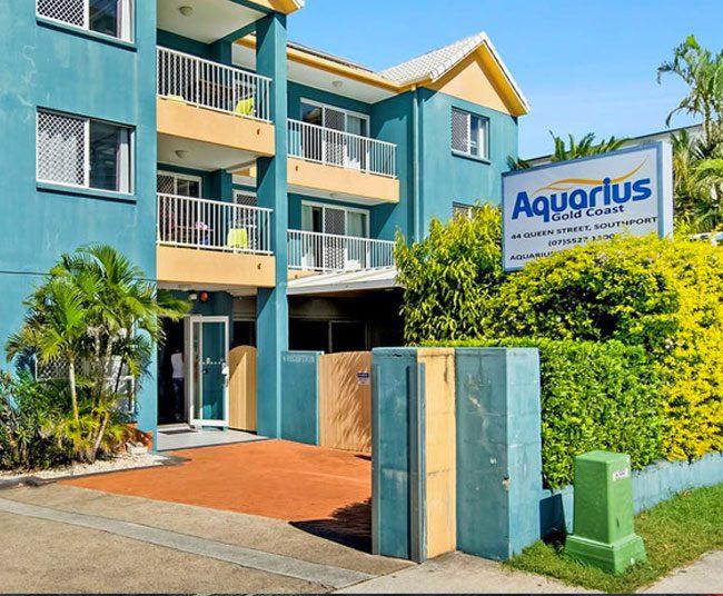 Alojamiento en Gold Coast con Aquarius