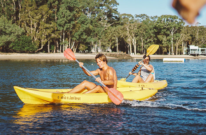 clases de kayak en australia