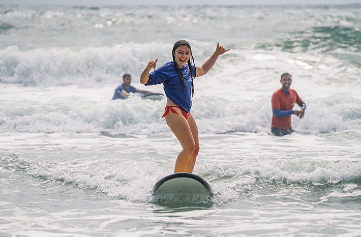 clases de surf en australia