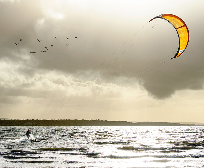 Kiteboarding en Canada