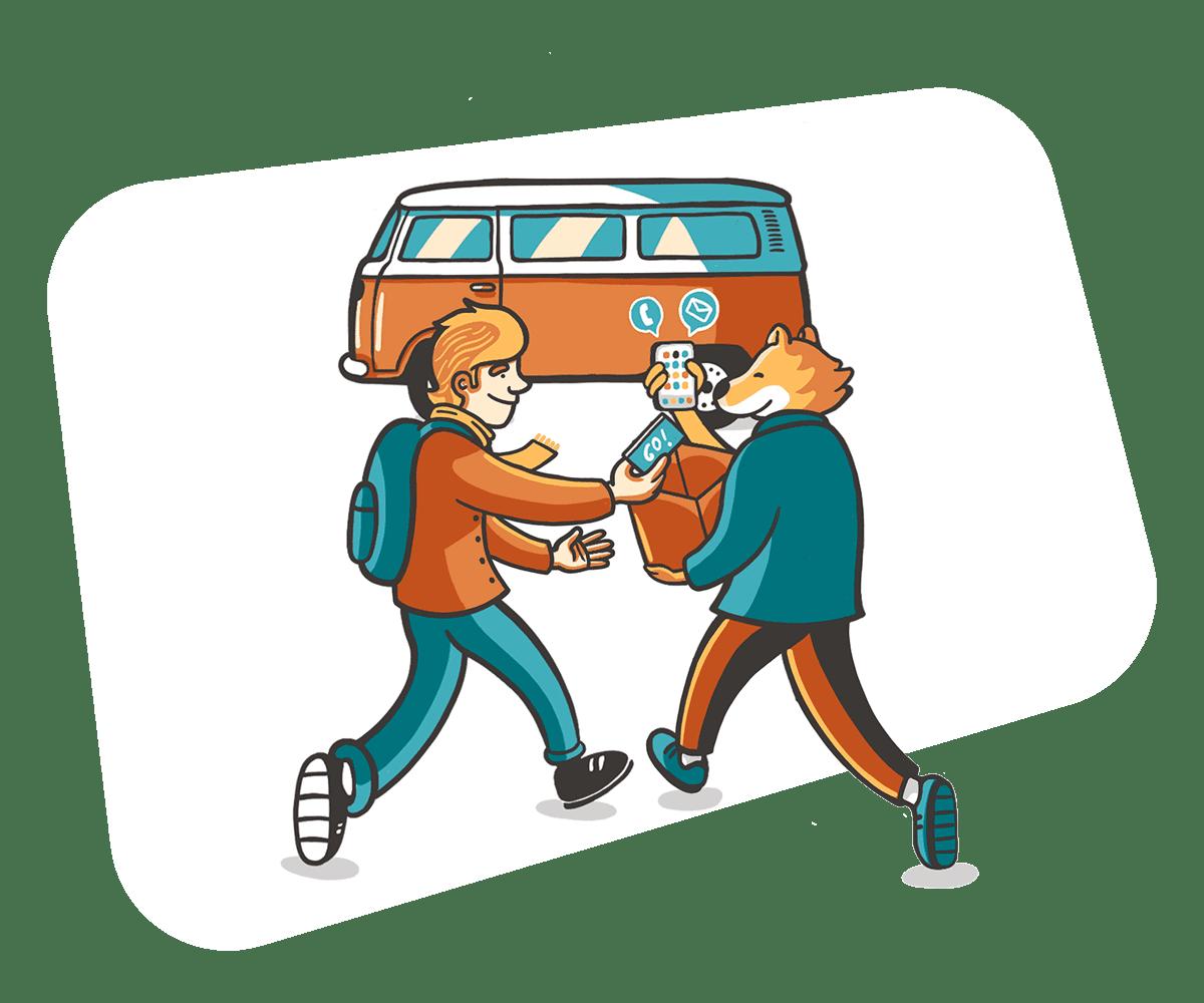 Recepción e integración en destino
