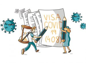 408 visa for covid