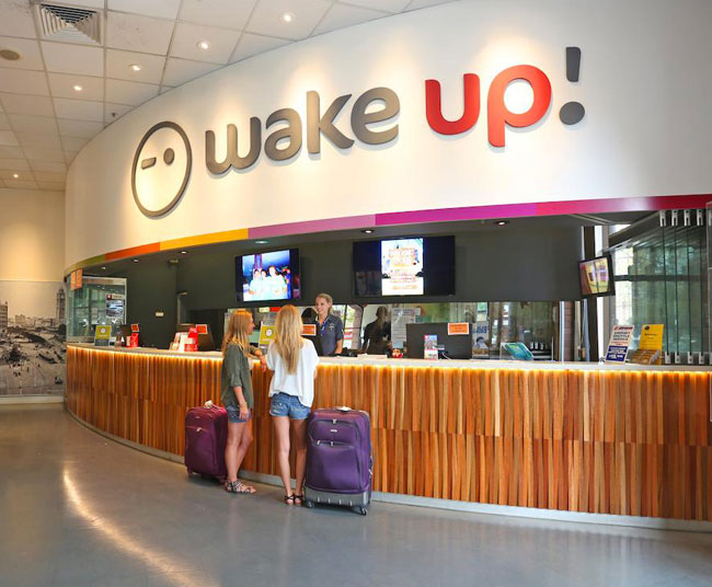 Wake up hostel