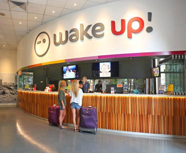 Wake up hostel